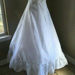 David's Bridal Full Petticoat Hoopless